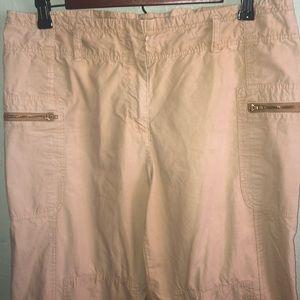 J. Crew Pants - J Crew cropped pants.  Size 6.